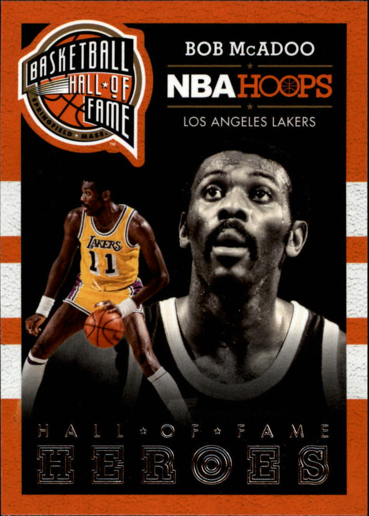 2013-14 Hoops Hall of Fame Heroes #2 Bob McAdoo