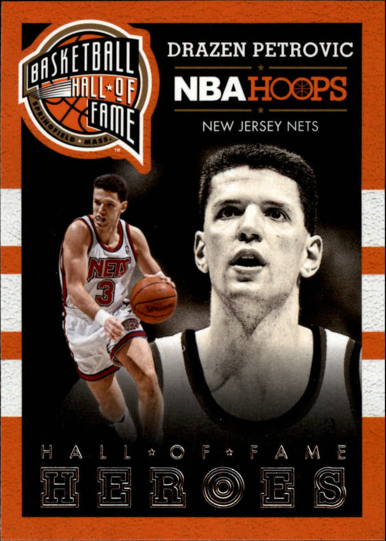 2013-14 Hoops Hall of Fame Heroes #3 Drazen Petrovic