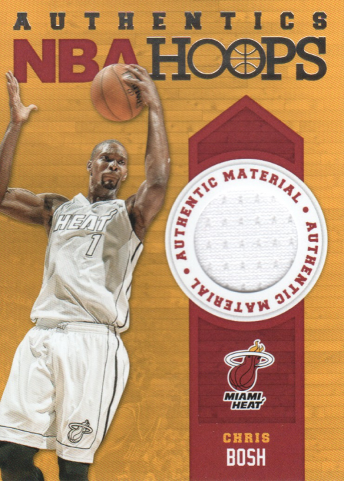 2013-14 Hoops Authentics #53 Chris Bosh