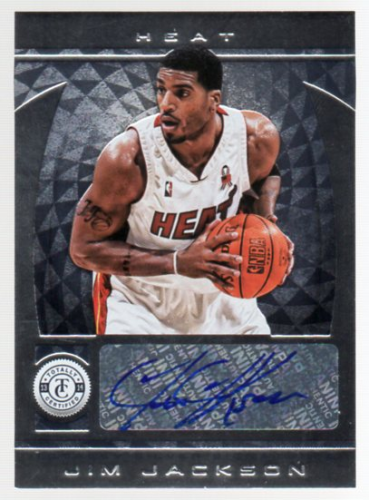 2013-14 Totally Certified Autographs #10 Jim Jackson