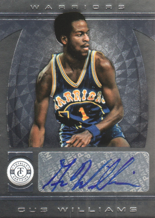 2013-14 Totally Certified Autographs #223 Gus Williams