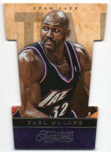2013-14 Timeless Treasures Three-Piece Puzzles #4B Karl Malone