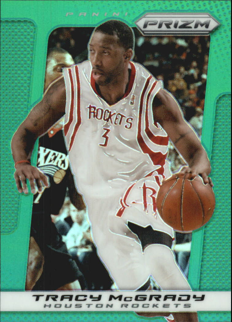 2013-14 Panini Prizm Prizms Green #38 Tracy McGrady