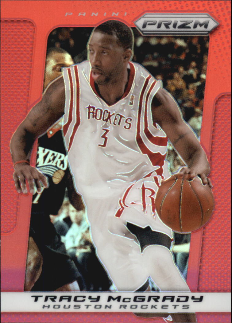 2013-14 Panini Prizm Prizms Red #38 Tracy McGrady