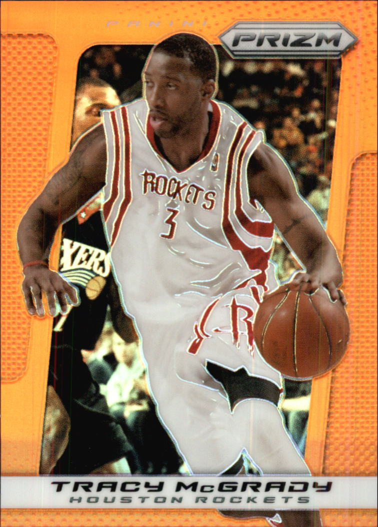 2013-14 Panini Prizm Prizms Orange #38 Tracy McGrady