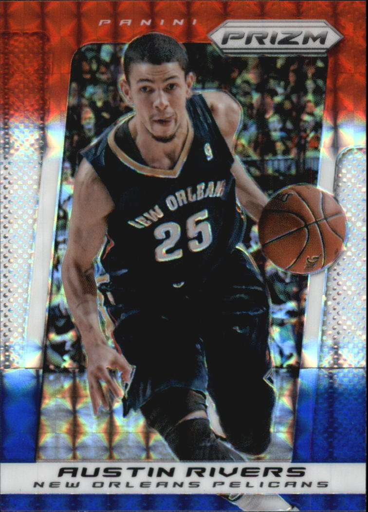 2013-14 Panini Prizm Prizms Red White and Blue Mosaic #25 Austin Rivers
