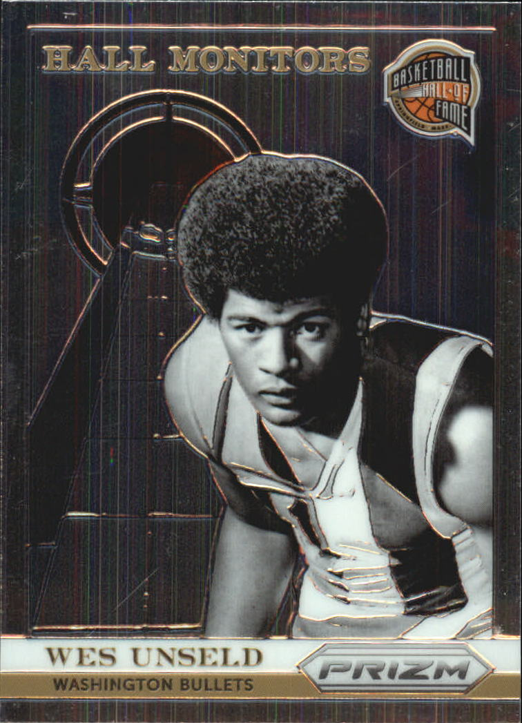 2013-14 Panini Prizm Hall Monitors #22 Wes Unseld