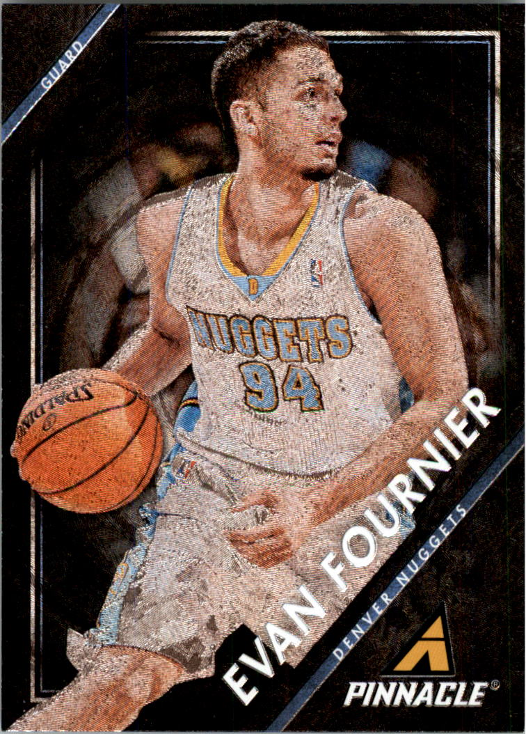 2013-14 Pinnacle Museum Collection #99 Evan Fournier