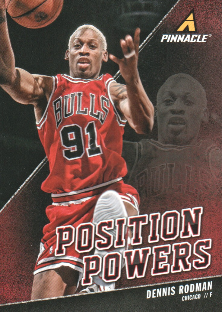 2013-14 Pinnacle Position Powers #16 Dennis Rodman