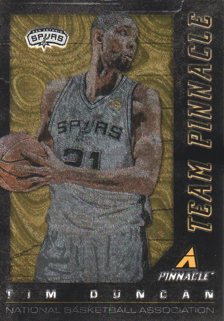 2013-14 Pinnacle Team Pinnacle #17 Kevin Garnett/Tim Duncan