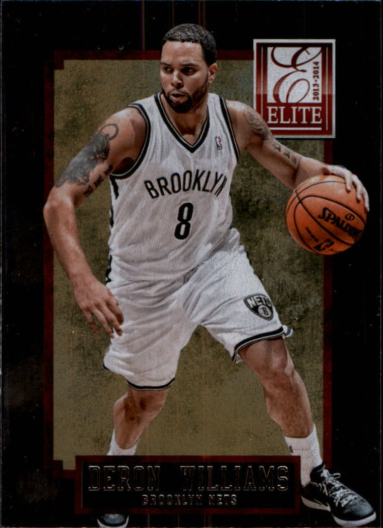 2013-14 Elite #53 Deron Williams
