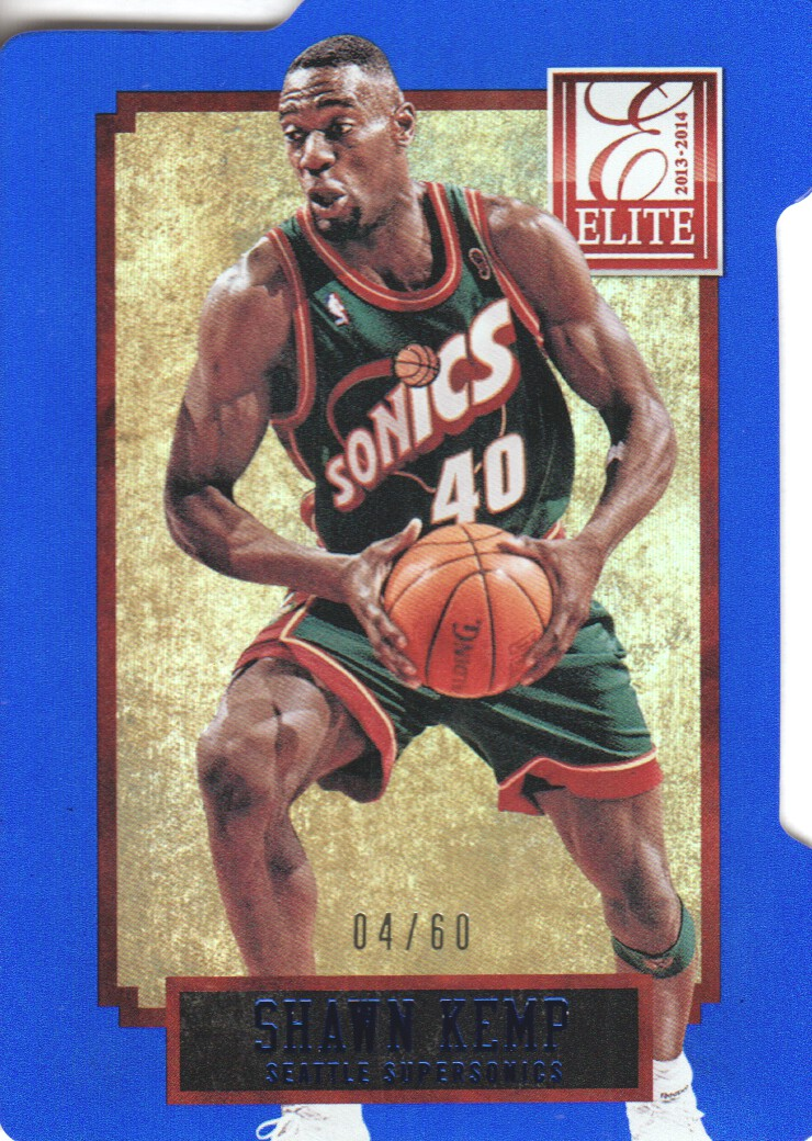 2013-14 Elite Aspirations #279 Shawn Kemp/60