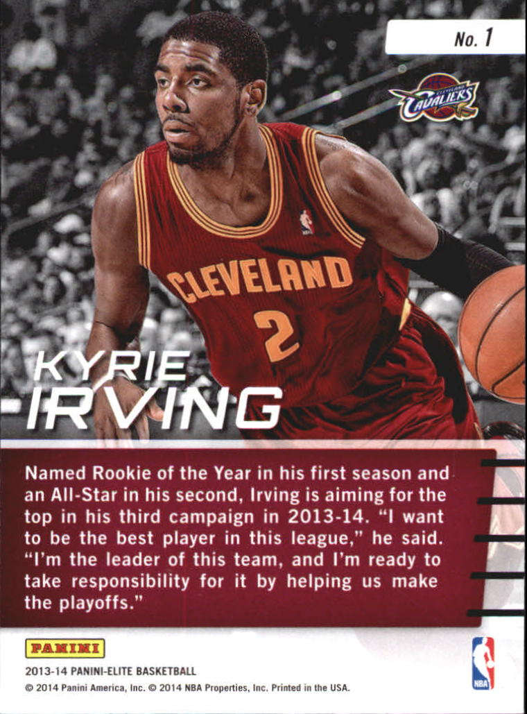 2013-14 Elite Franchise Future #1 Kyrie Irving