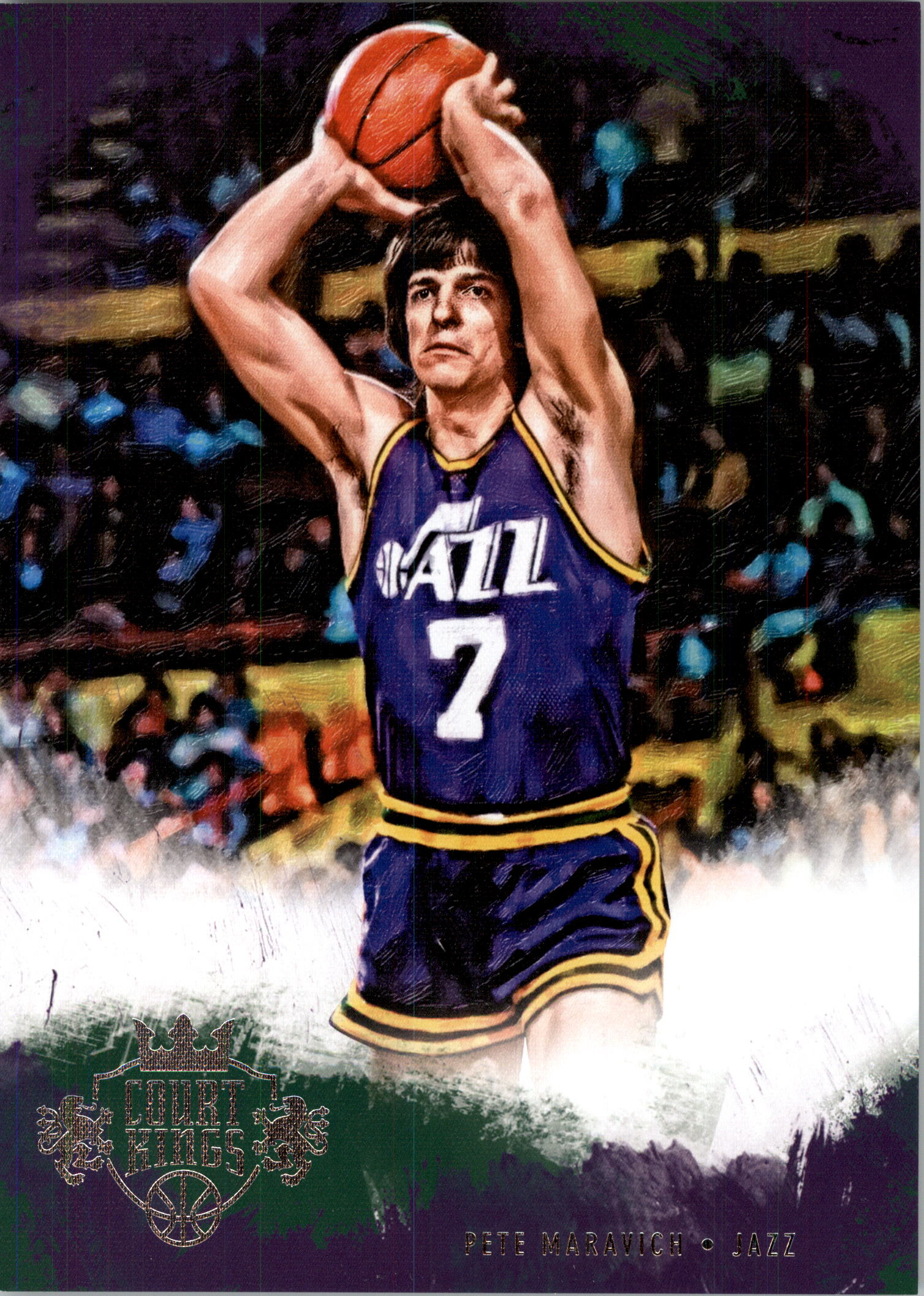 2013-14 Court Kings 5x7 Box Toppers #46 Pete Maravich