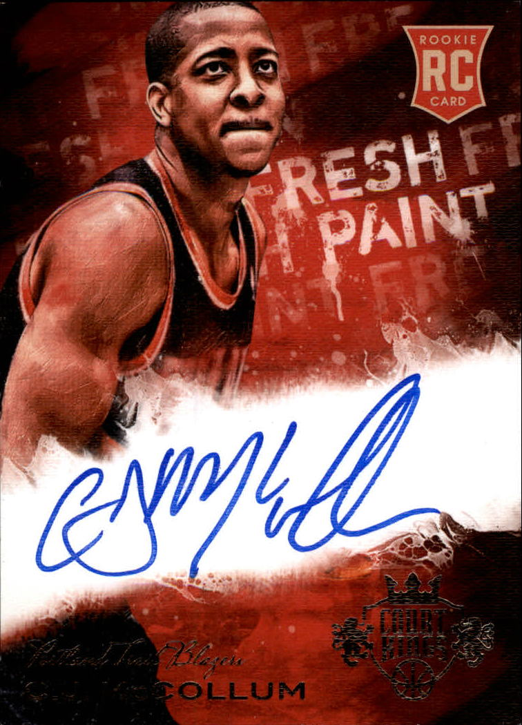 2013-14 Court Kings Fresh Paint Autographs #11 C.J. McCollum/149