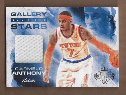 2013-14 Court Kings Gallery of Stars Jerseys #33 Carmelo Anthony/325