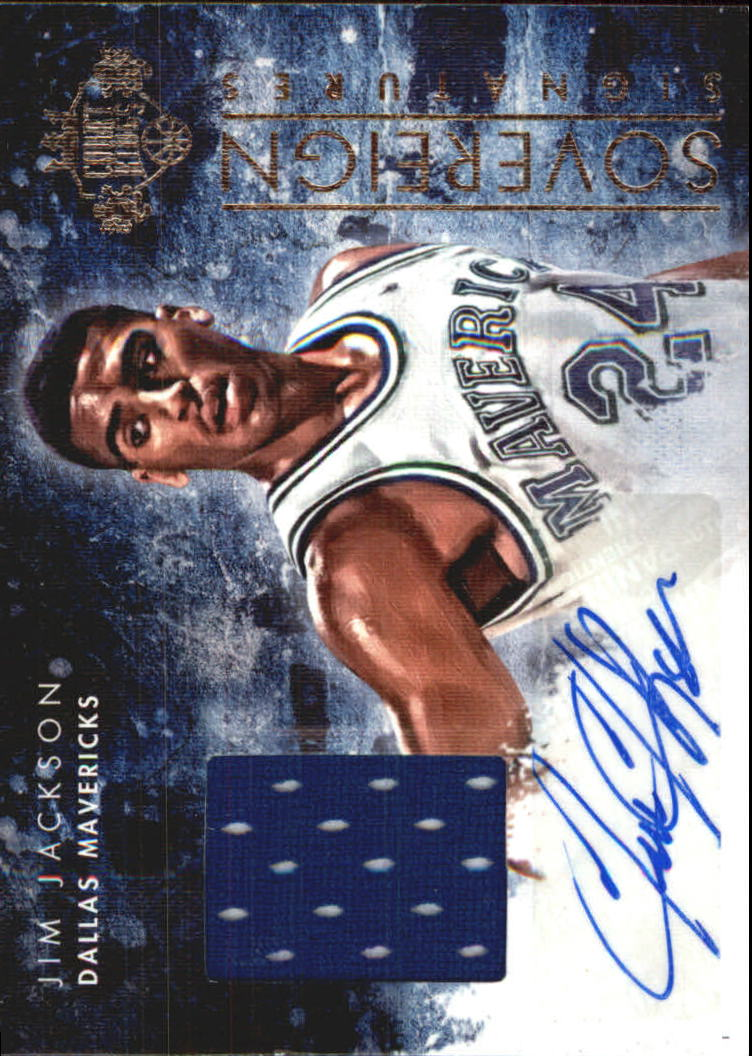 2013-14 Court Kings Sovereign Signatures #24 Jim Jackson/199