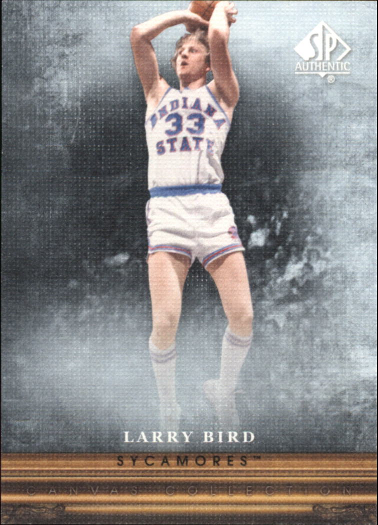 2013-14 SP Authentic Canvas #CC12 Larry Bird