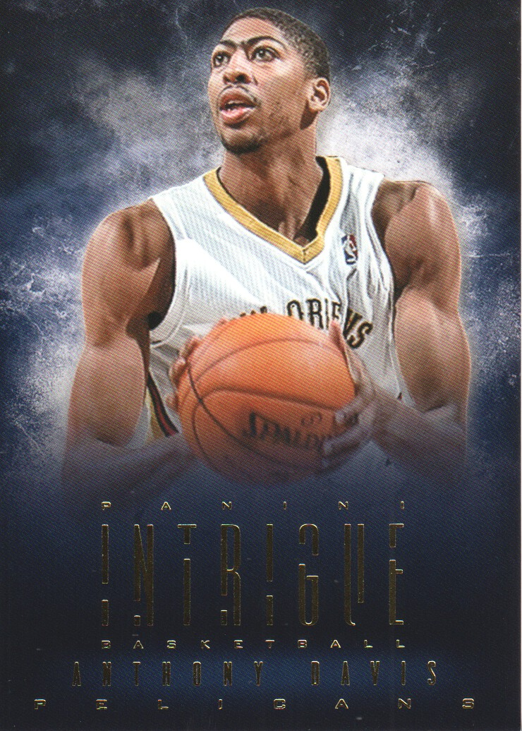 2013-14 Panini Intrigue #66 Anthony Davis