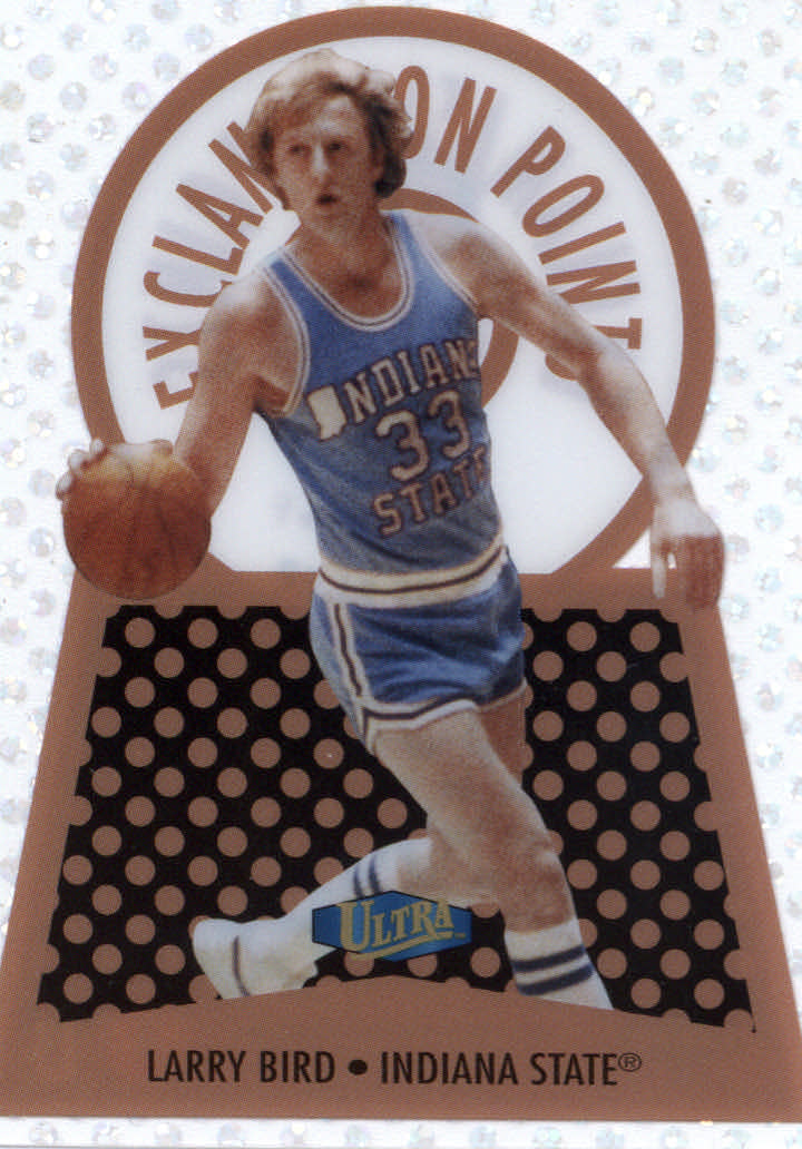 2013-14 Fleer Retro '98 Ultra Exclamation Points #16EP Larry Bird