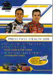 2006 Press Pass Stealth #90 Johnson/Gordon CL