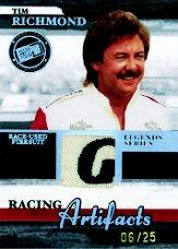2006 Press Pass Legends Racing Artifacts Firesuit Patch #TRF Tim Richmond