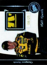 2006 Press Pass Legends Champion Threads Patch #CTMK Matt Kenseth