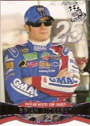 2007 Press Pass #20 Brian Vickers