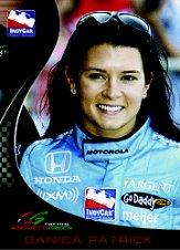 2007 Rittenhouse IRL #3 Danica Patrick RC