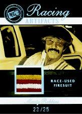 2007 Press Pass Legends Racing Artifacts Firesuit Patch card image
