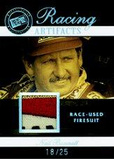 2007 Press Pass Legends Racing Artifacts Firesuit Patch #NBF Neil Bonnett