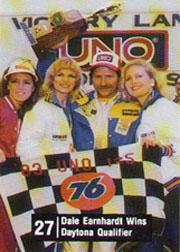 1983 UNO Racing #27 Dale Earnhardt