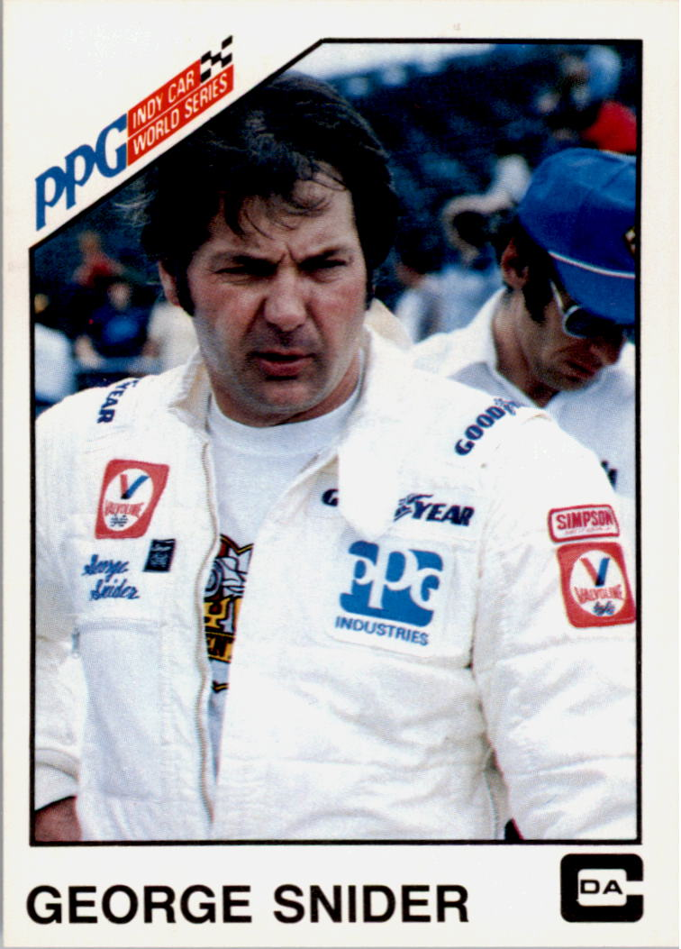 1983 A and S Racing Indy #24 George Snider