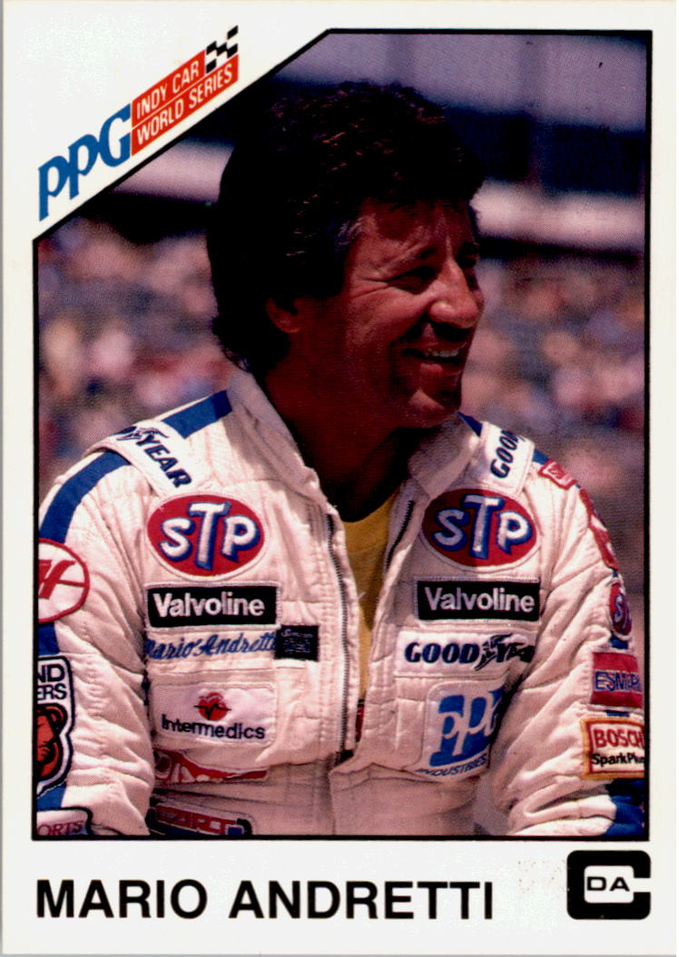 1983 A and S Racing Indy #33 Mario Andretti
