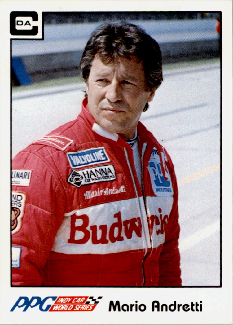 1984 A and S Racing Indy #16 Mario Andretti