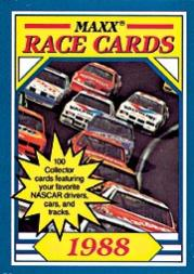 1988 Maxx Charlotte #1B Cover Card 100/mentions 100 cards