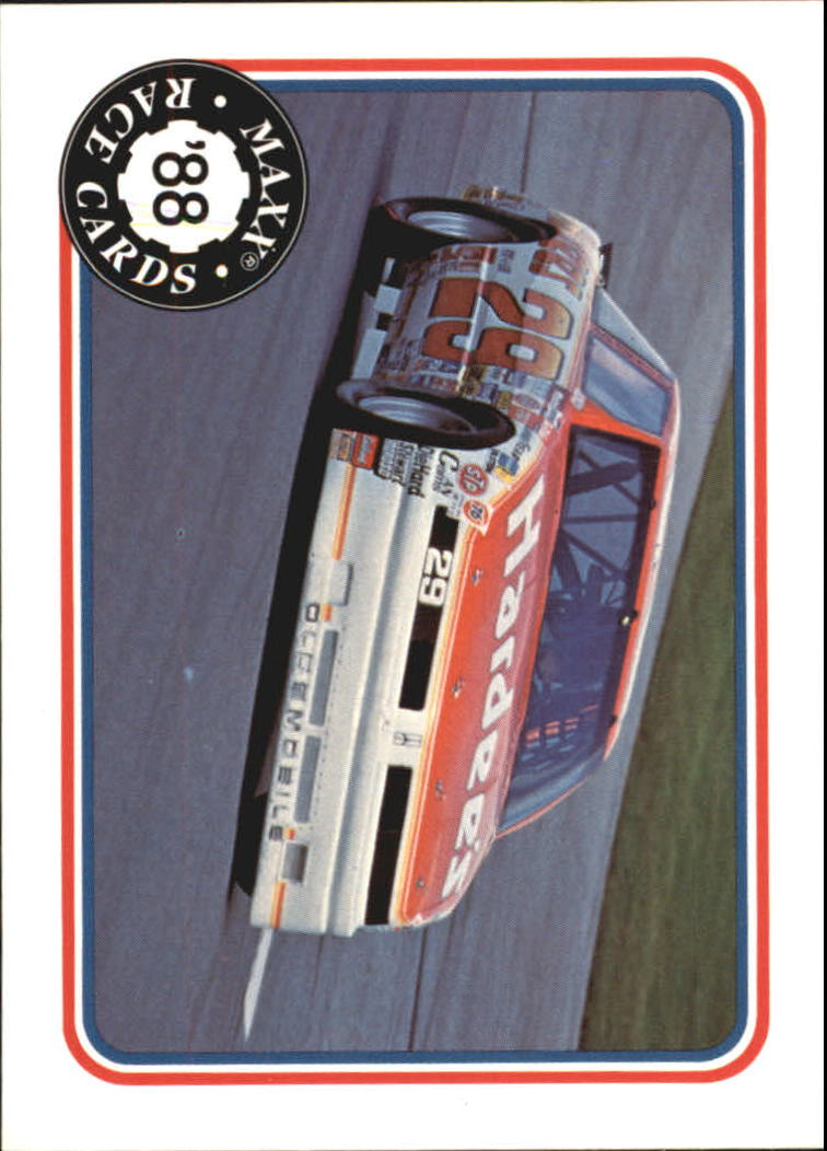 1988 Maxx Charlotte #4 Cale Yarborough's Car