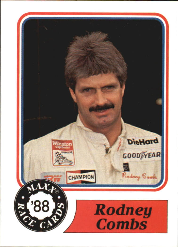 1988 Maxx Charlotte #6 Rodney Combs RC