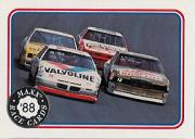 1988 Maxx Charlotte #7 Bobby Allison's Car/Neil Bonnett's Car/Geoff Bodine's Car/Buddy Baker's Car