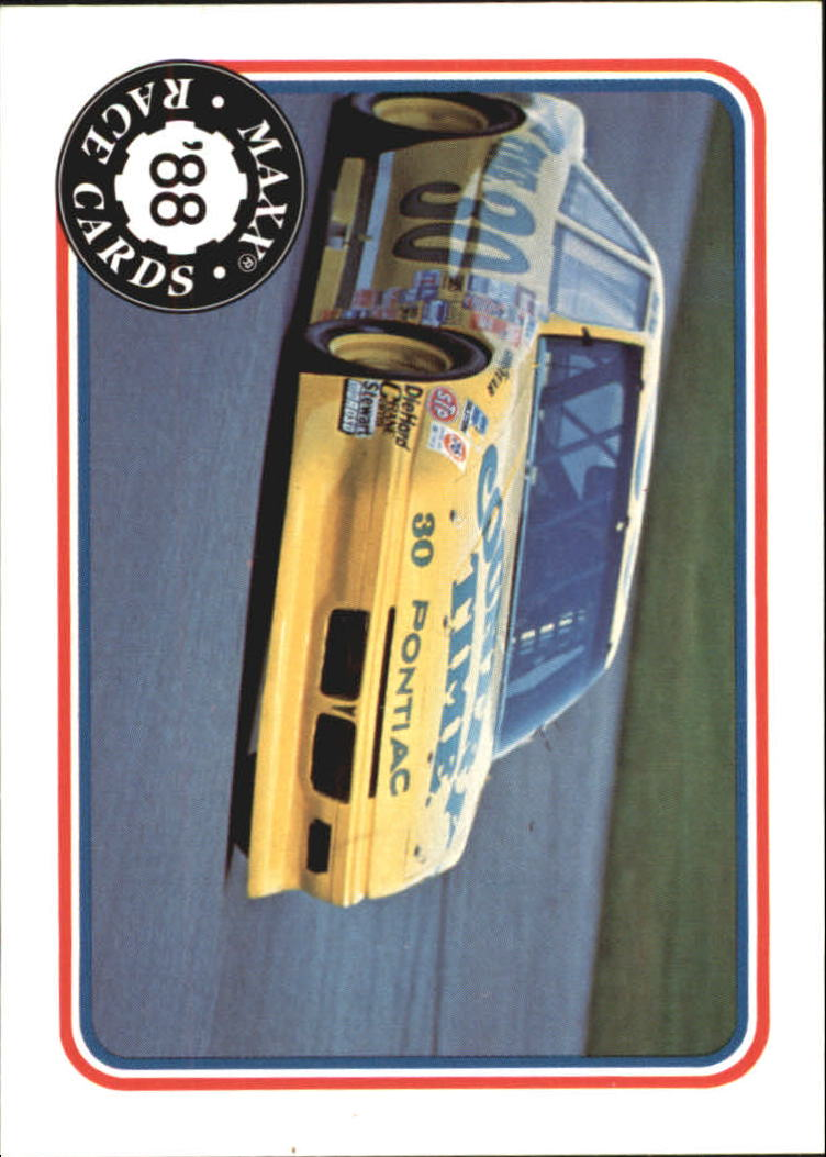 1988 Maxx Charlotte #23 Michael Waltrip's Car