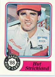 1988 Maxx Charlotte #28 Hut Stricklin RC