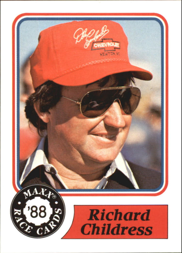 1988 Maxx Charlotte #29 Richard Childress