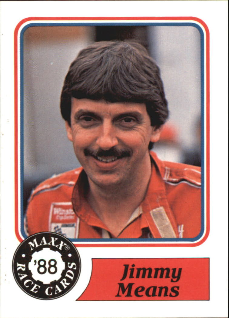1988 Maxx Charlotte #42 Jimmy Means