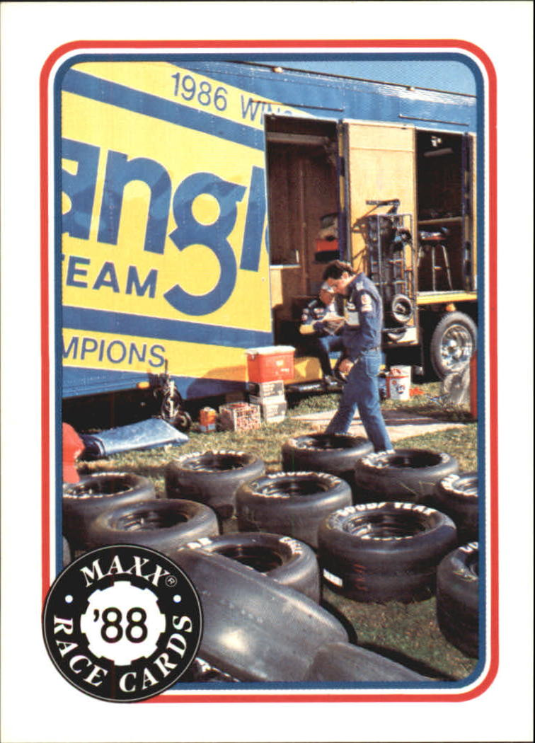 1988 Maxx Charlotte #45 Tire Wars/Earnhardt's Trailer
