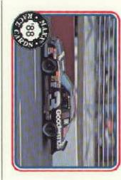 1988 Maxx Charlotte #54 Dale Earnhardt's Car