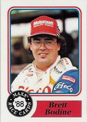 1988 Maxx Charlotte #59 Brett Bodine RC