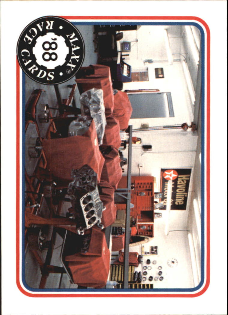1988 Maxx Charlotte #72 Harry Ranier/Lundy Shop