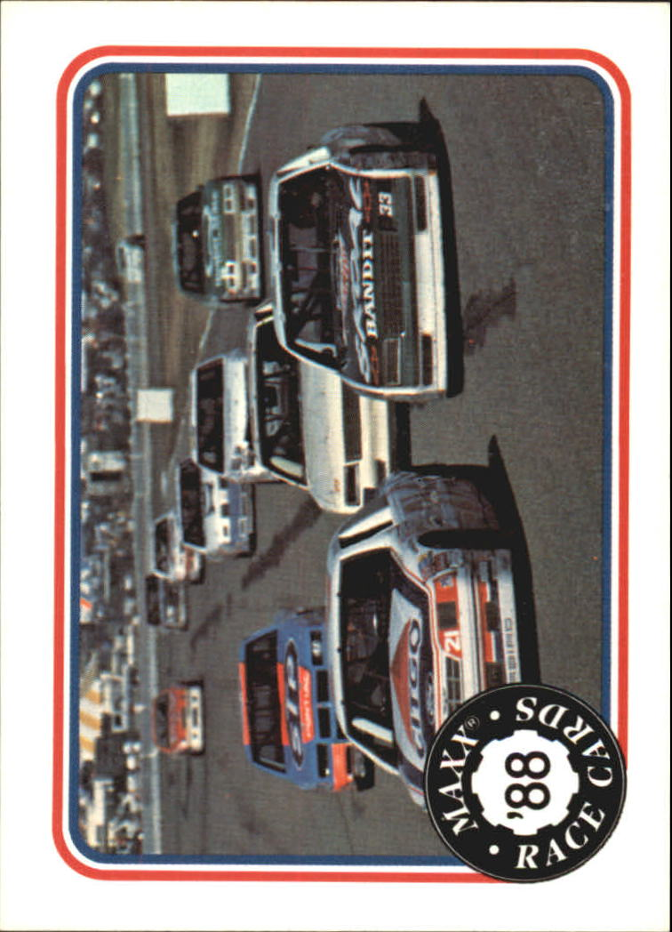 1988 Maxx Charlotte #82 Riverside International/with Richard Petty's Car