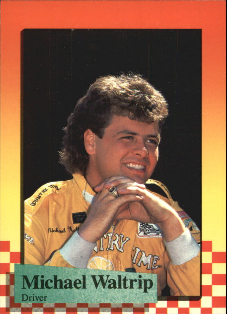 1989 Maxx #30 Michael Waltrip