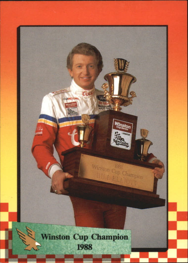1989 Maxx #50 Bill Elliott WC Champ